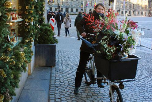 Доставка цветов по-амстердамски