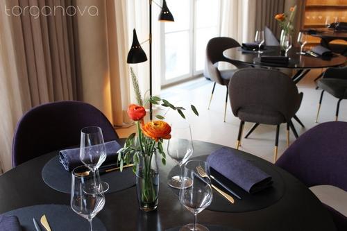 Оформление столов в ресторане